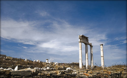 Delos in Greece