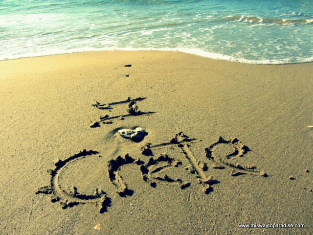 beaches on the island of Crete
