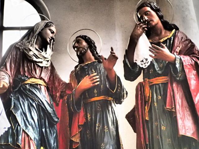 """Misteri of Trapani are kept in the Church of the """"Anime Sante del Purgatorio"""