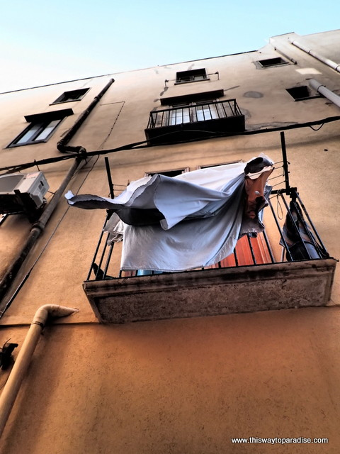 laundry in Trapani