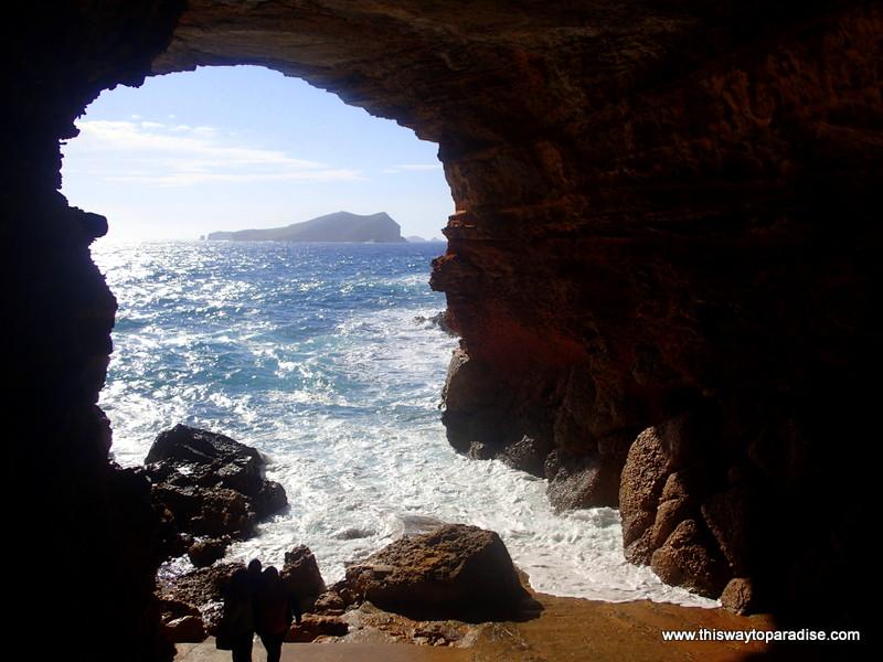 Sea Cave in Ibiza