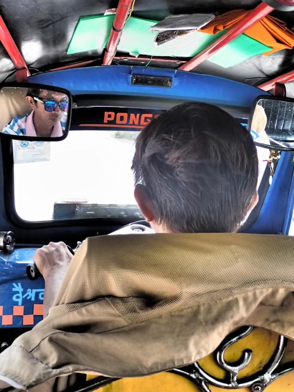 Sankampaeng Hot Springs tuk tuk driver