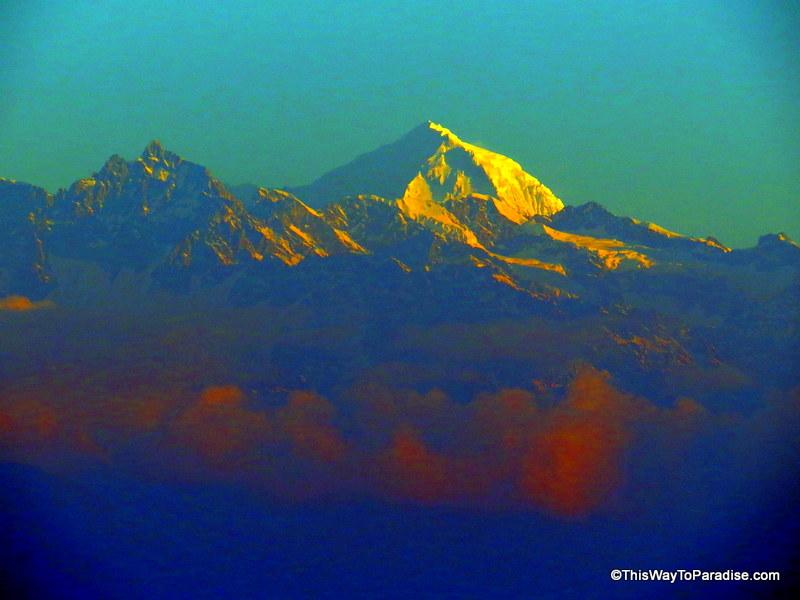 nagarkot sunrise Mt Everest
