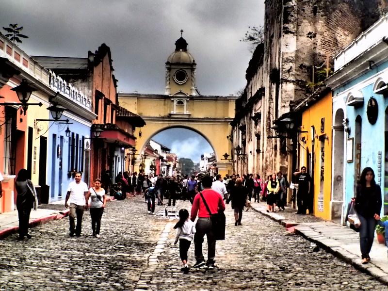 traveling to Guatemala, Antigua