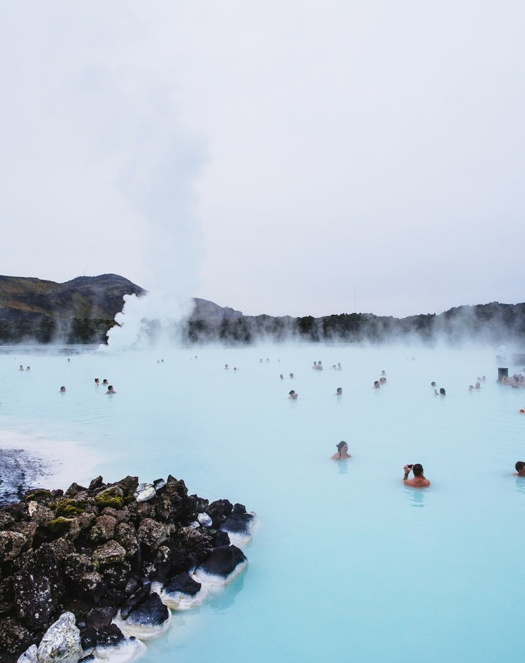 traveling to Iceland blue lagoon
