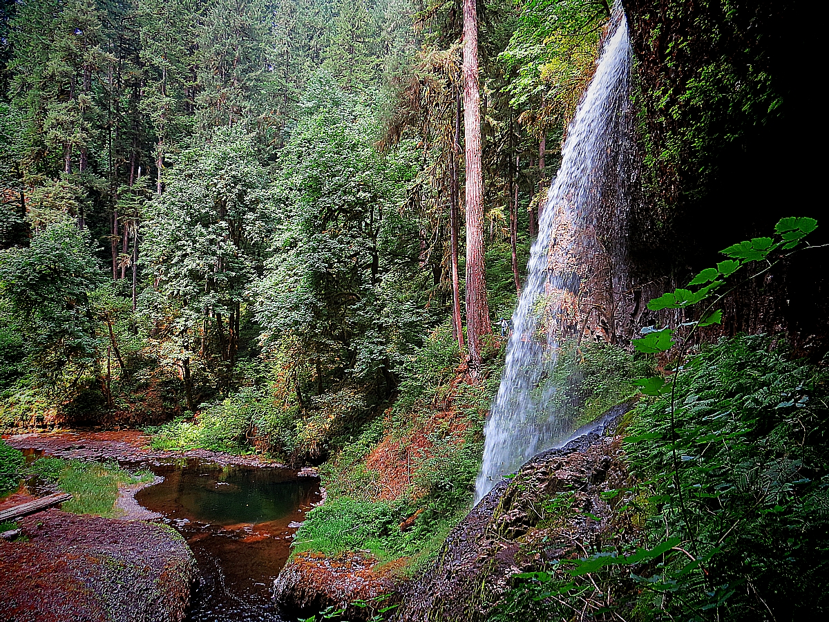 Chasing Waterfalls At Silver Falls State Park In Oregon