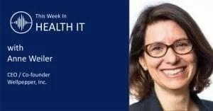 Anne Weiler This Week in Health IT