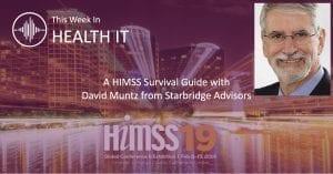 HIMSS19 with David Muntz