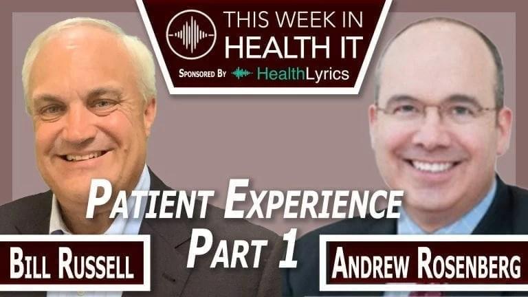Andrew Rosenberg Michigan Medicine This Week in Health IT