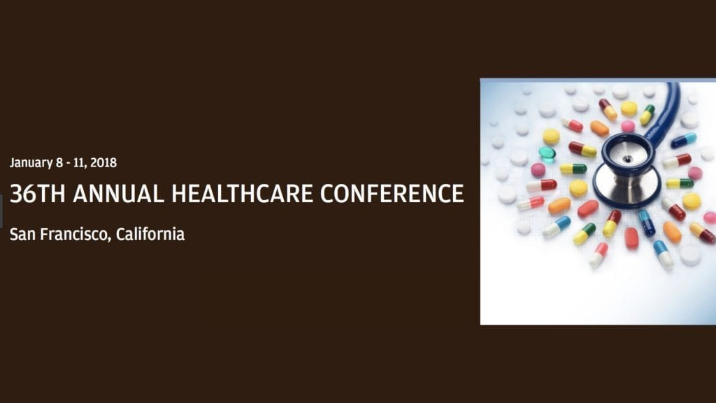 JP Morgan 2918 Healthcare Conference This Week in Health IT