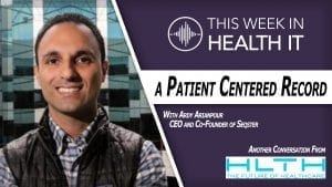 Ardy Arianpour Seqster - This Week in Health IT