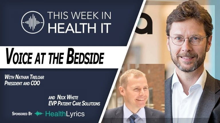 Nathan Treloar and Nick White Orbita This Week in Health IT