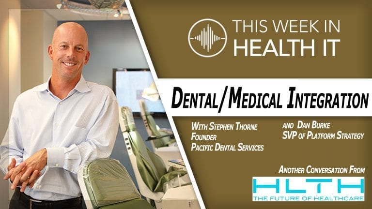 Stephen Thorne PDS Pacific Dental Services This Week Health