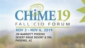CHIME Fall Forum 2019 This Week in Health IT