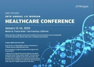 J.P. Morgan Healthcare Conference 2020