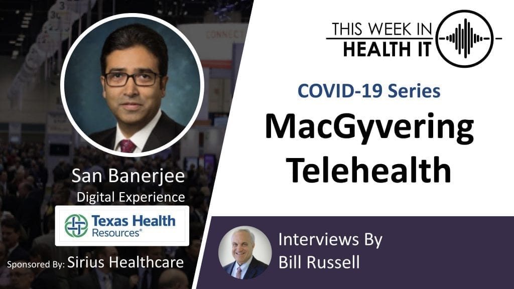 Texas Health Resources This Week in Health IT
