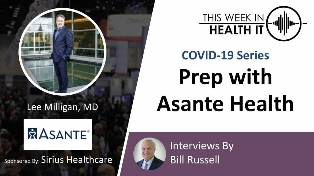 Asante Health This Week in Health IT