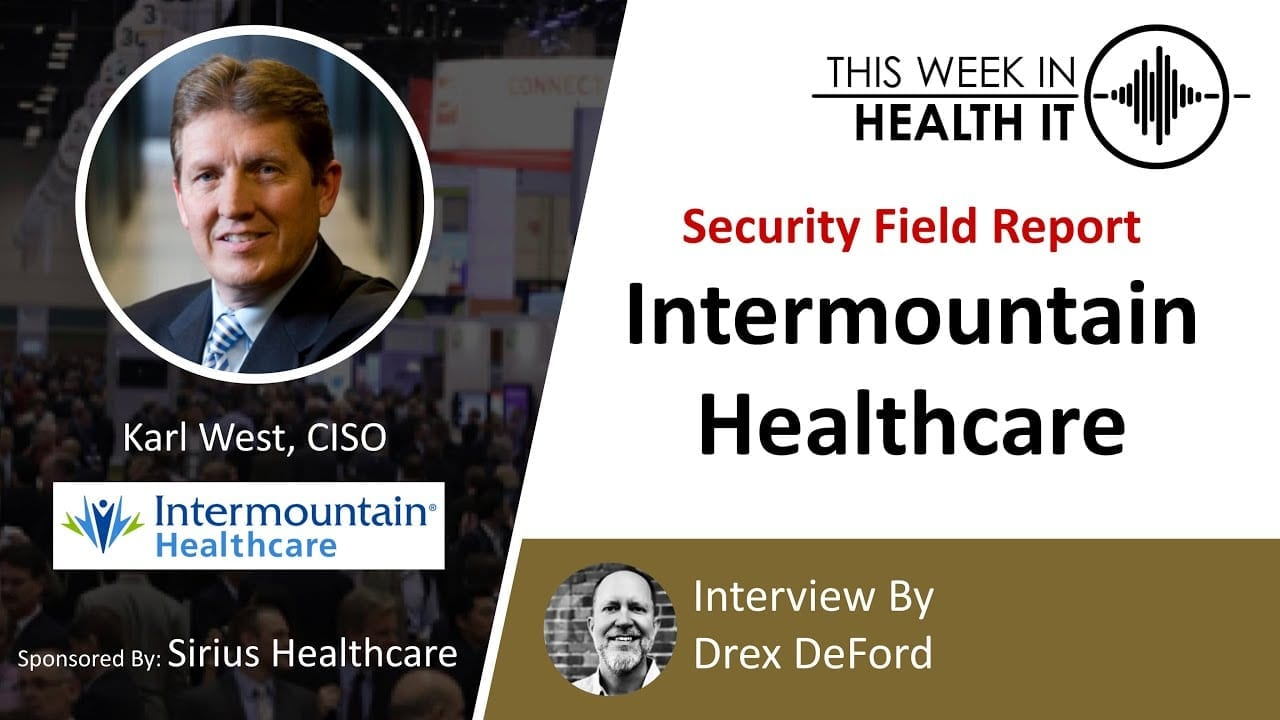 Intermountain Healthcare This Week in Health IT
