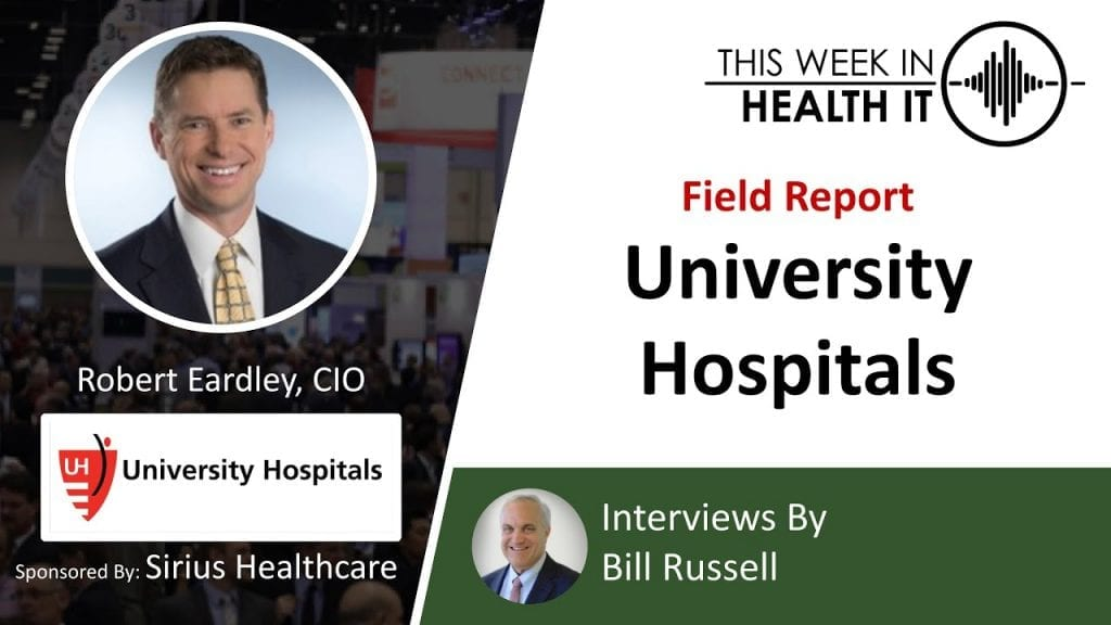 University Hospitals This Week in Health IT