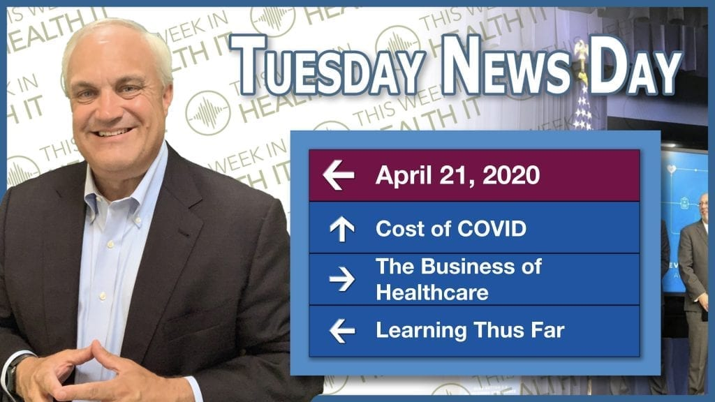 Tuesday News Day - This Week in Health IT