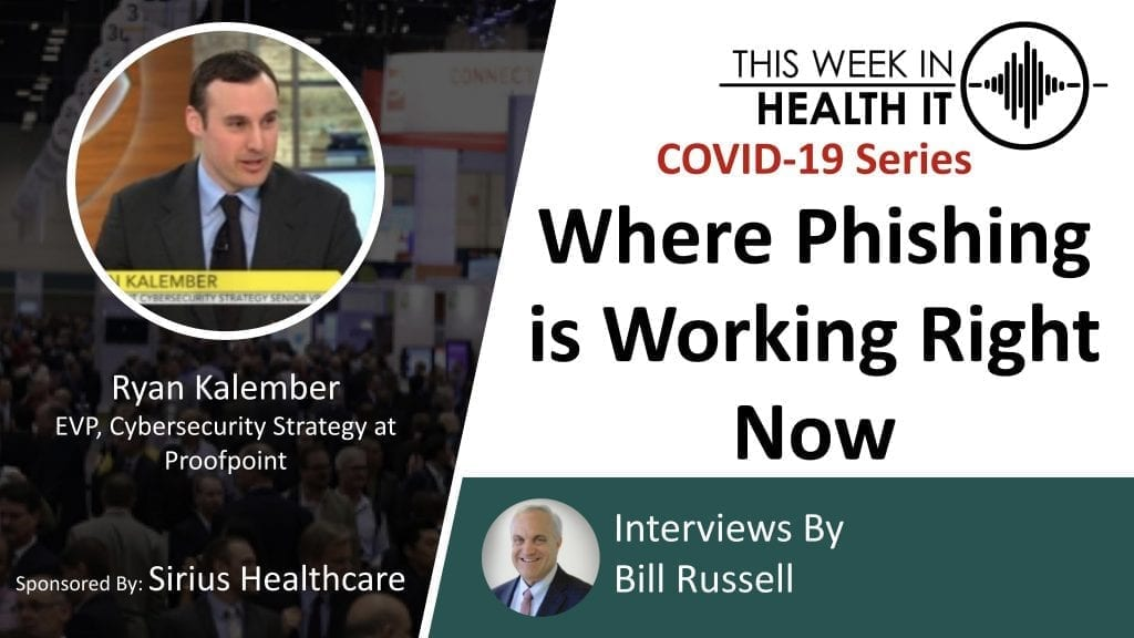 Proofpoint This Week in Health IT