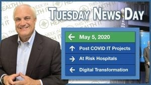 News Day May 2020 This Week in Health IT