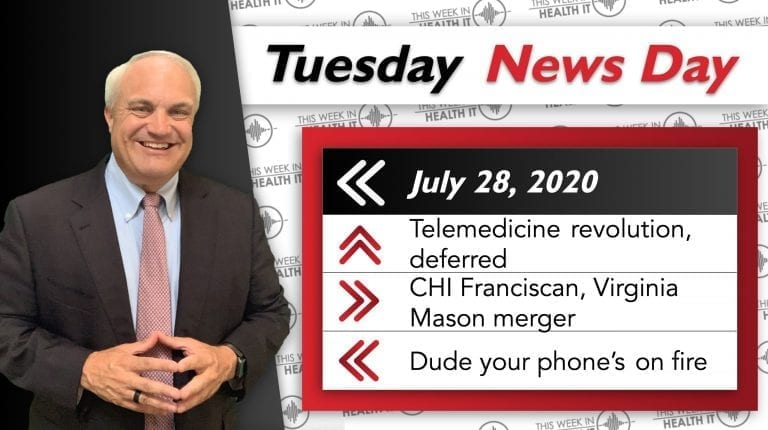 This Week In Health IT Bill Russell Drex DeFord