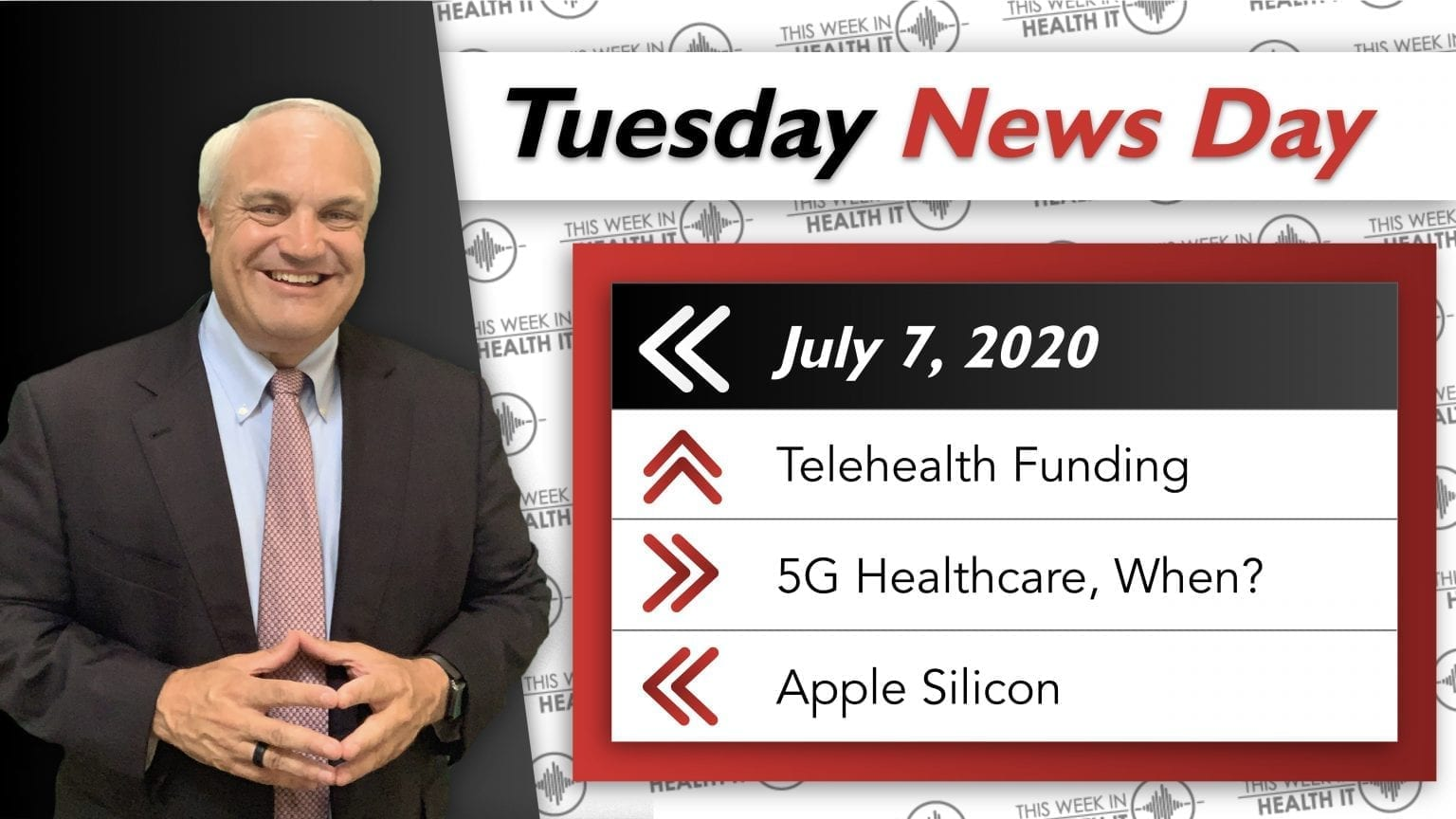 Telehealth Funding, Apple Silicon, and 5G This Week in Health IT