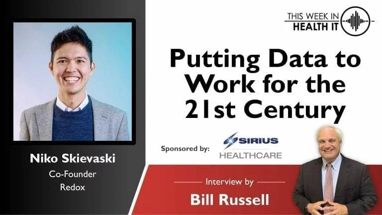 Niko Skievaski Redox This Week in Health IT