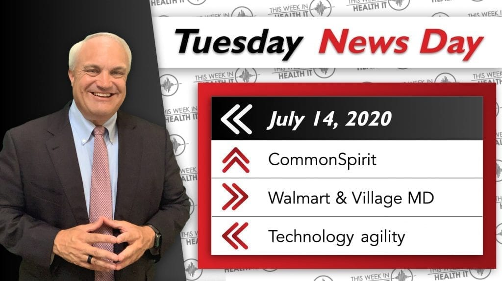 This Week in Health IT News Day Bill Russell