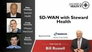 VMWare SD-WAN VeloCloud with Steward Heatlh
