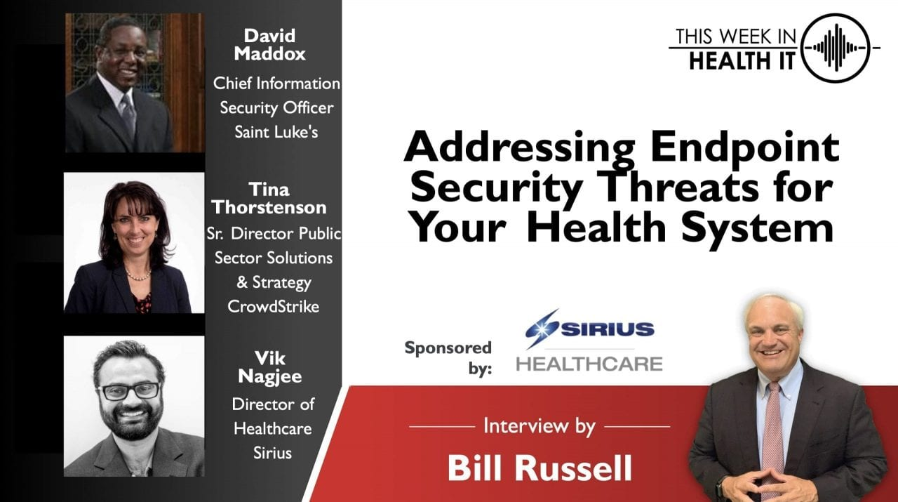 Addressing Endpoint Security Threats for Your Health System