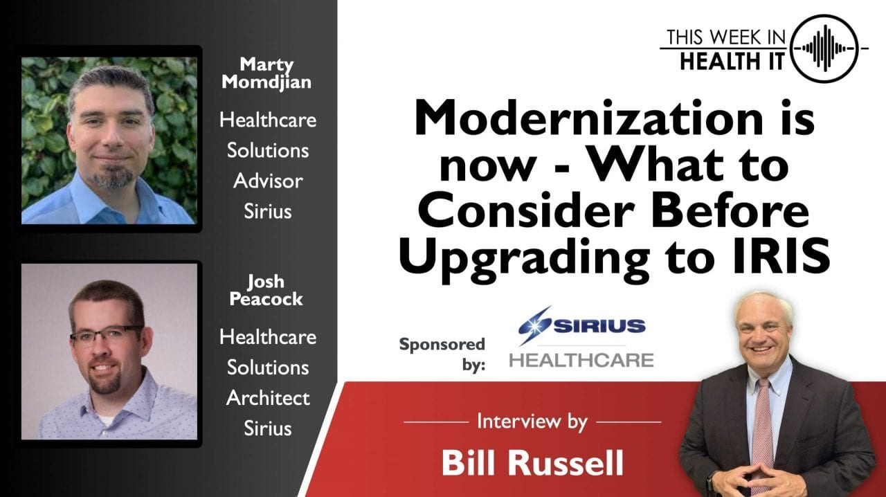 Modernization is now - What to consider before upgrading to IRIS