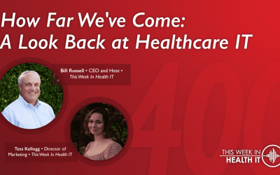 How Far We've Come: 400 Episodes and a Look Back at Healthcare IT This Week in Health IT