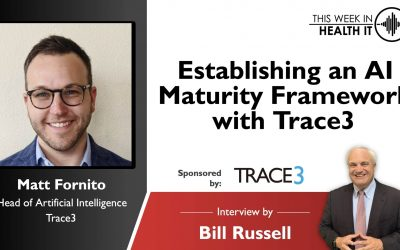 Establishing an AI Maturity Framework with Trace3 This Week in Health IT