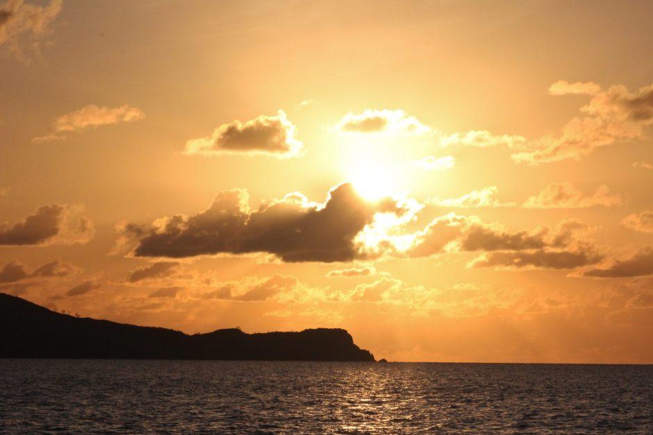 Sunrise over the Whitsunday Islands, Australia