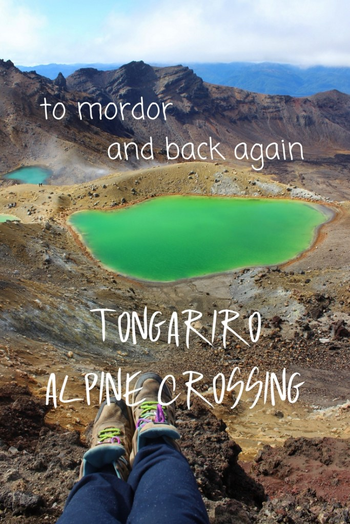 To Mordor and Back Again - the Tongariro Alpine Crossing, New Zealand