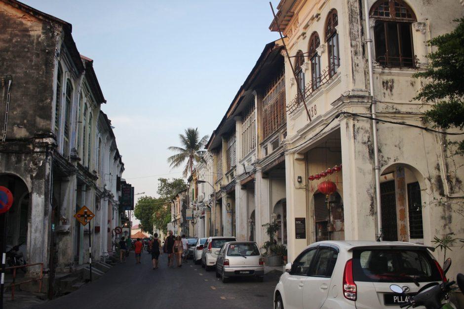 Love Lane in Penang, Malaysia