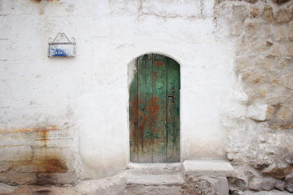 A small door in Cappadocia, Turkey