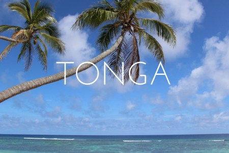 Thinking about Tonga - my first experience of a tropical island