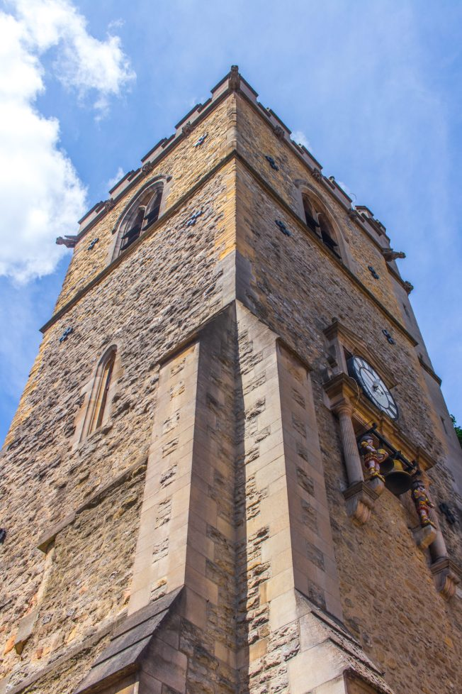 Carfax Tower in Oxford, UK