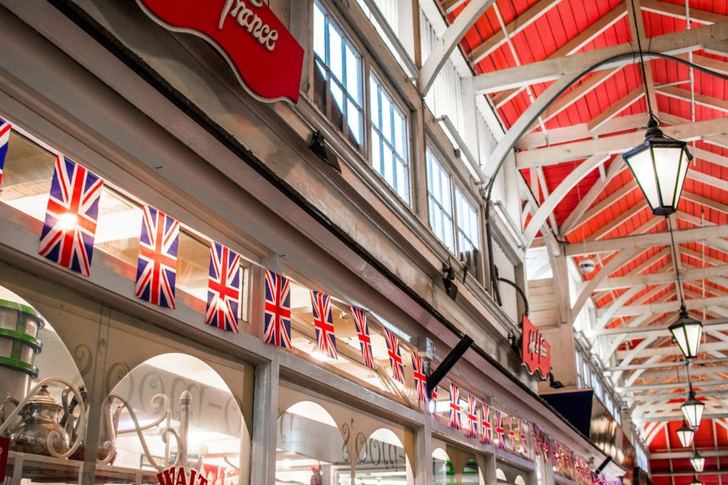 The Covered Market in Oxford, UK