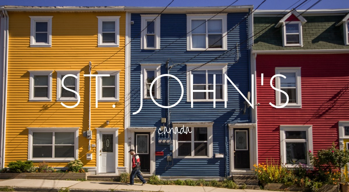 How to spend four days in St. John's, Newfoundland