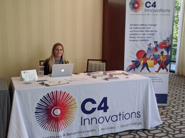 Picture of C4 Innovations Booth