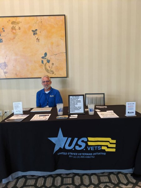 Picture of US Vets Booth