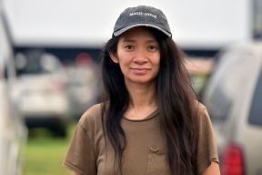 A photo of director Chloé Zhao