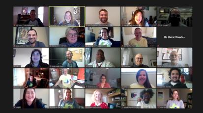 Zoom screenshot of HAD Participants 1