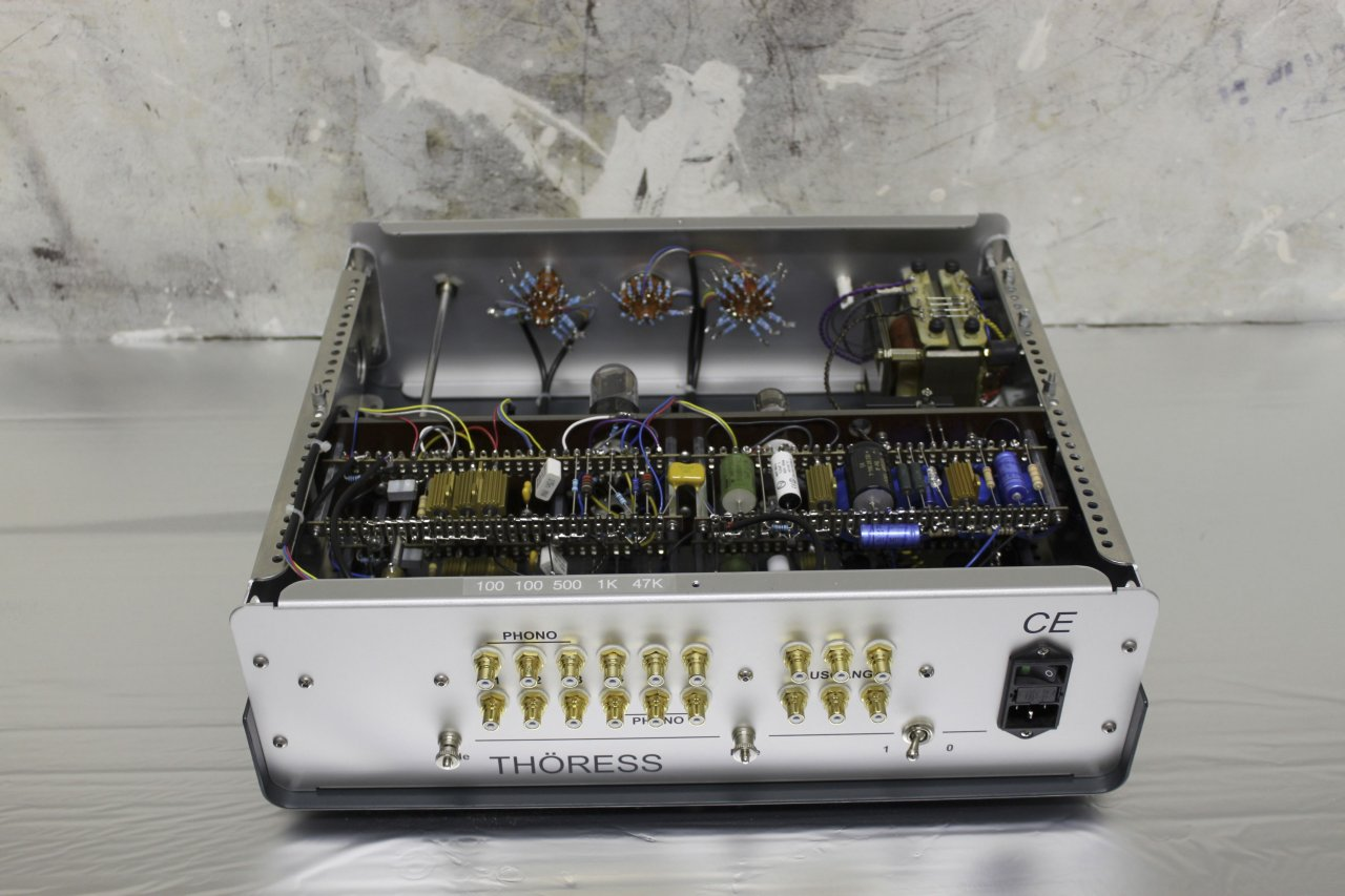 Riaa Equalizer Amplifier With Balance Outver6