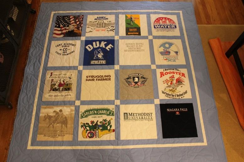 Classic T-Shirt Quiltc T-Shirt Quilt