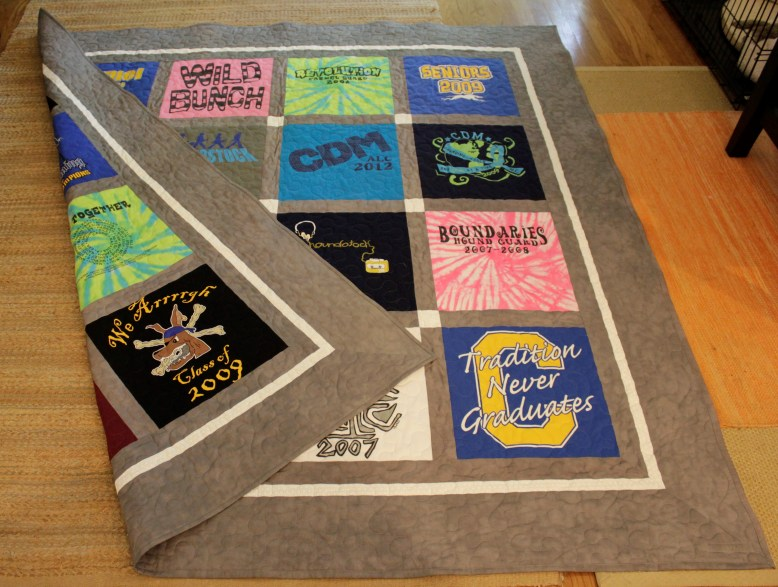 Double Sided Classic T-Shirt Quilt